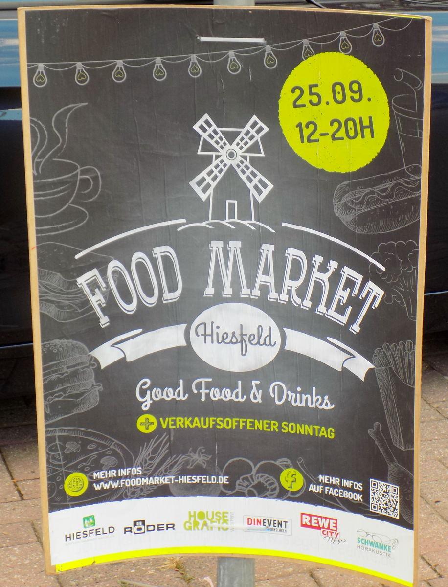 Food Market in Dinslaken Hiesfeld