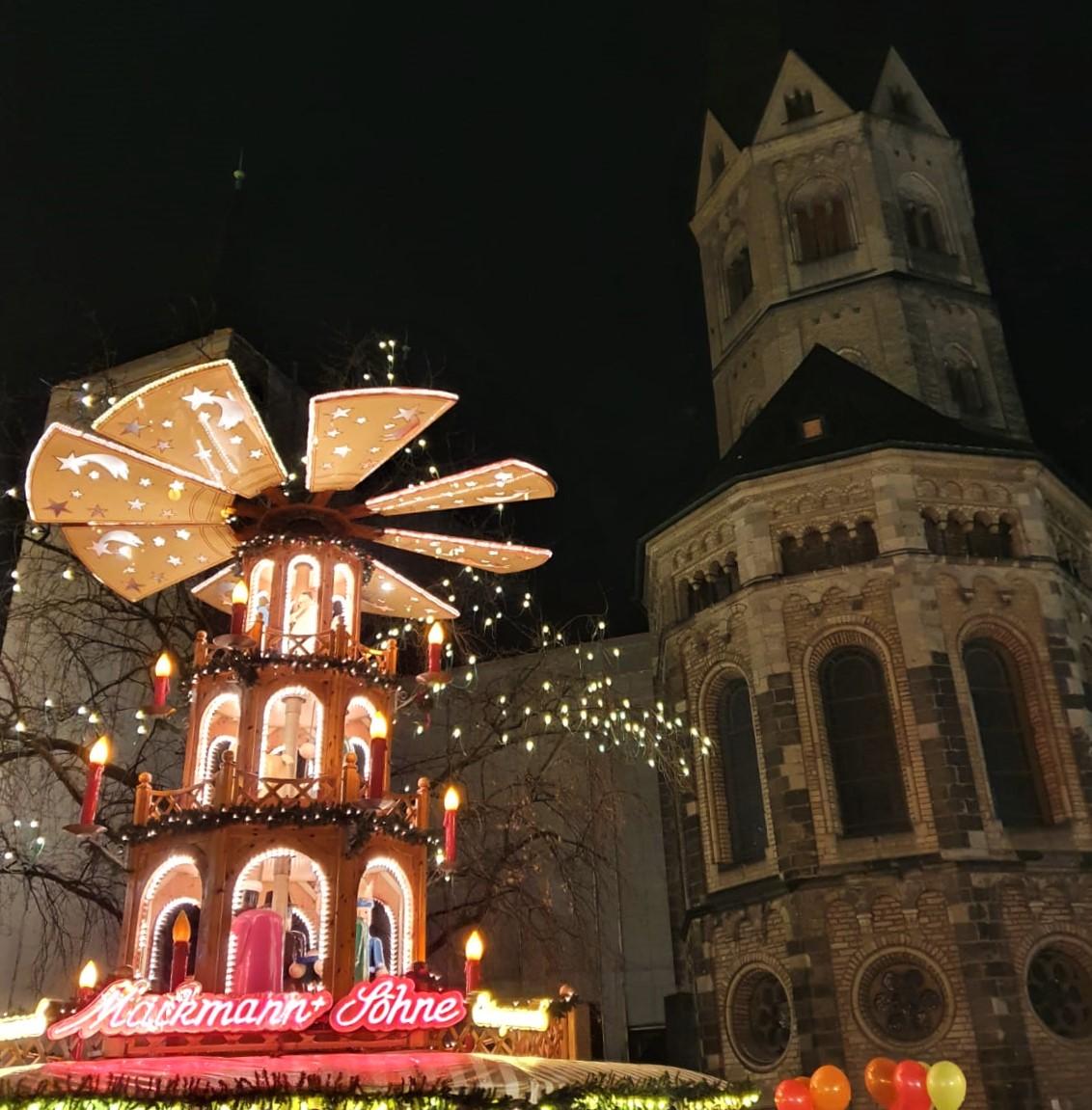 Weihnachtsmarkt Bonn in der Innenstadt
