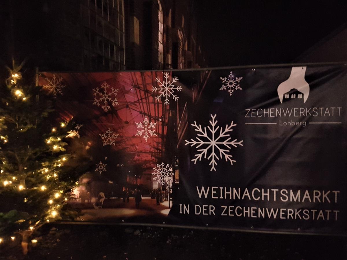 Weihnachtsmarkt Zechenwerkstatt